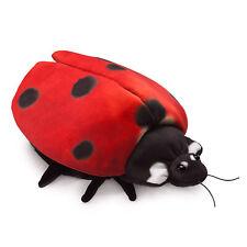 """Folkmanis Ladybug Life Cycle Reversible Hand Puppet, 10"""""""