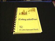 1987 Cooking With Grace Cook Book St Luke's Episcopal Church Lanesboro MA MASS
