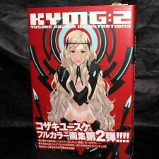 KYMG 2 YUSUKE KOZAKI DRAWING COLLECTION ANIME ARTBOOK NEW