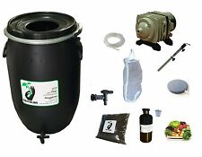 Kit complet 60L noir pour thé compost aéré : pompe filtre... tea compost brewer