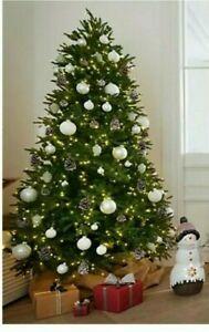 SANTA´S BEST® Deluxe Weihnachtsbaum Starry Light LEDs inkl. Fernb. 90 cm doo7