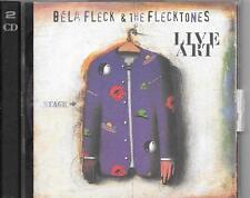2 CD ALBUM LIVE 21 TITRES--BELA FLECK & THE FLECKTONES--LIVE ART