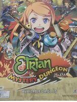 E3 Atlus Etrian Mystery Dungeon Poster Rare 28x22 Nintendo DS