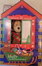 1996 Muffy VanderBear Muffy The Red-Nosed ReinBear Christmas Bear NIB