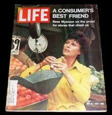 LIFE Magazine July 16, 1971 Bess Myerson A Consumer's Best Friend