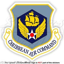 United States USAF CARIBBEAN AIR COMMAND Badge, USAAF 6th Sixth AirForce Sticker
