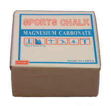 GYM CHALK (ONE BLOCK) 2 OZ LIFTING CLIMBING GYMNASTICS WEIGHTLIFTING