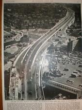 Aerial Photo Chiswick Fly-Over London UK 1959