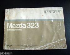 Betriebsanleitung Mazda 323 Stand 1989