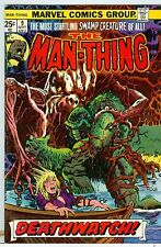 Man-Thing #9 and #10 Mike Ploog art