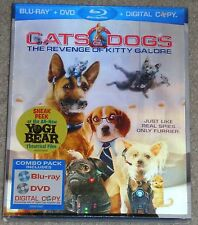 Blu-ray + DVD - CATS & DOGS The Revenge of Kitty Galore