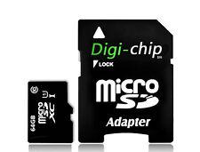 Tarjetas de memoria para teléfonos móviles y PDAs con 64 GB de la tarjeta