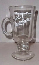 Haagen Dazs Cream Liqueur Irish Coffee Glass Barware