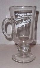 Haagen Dazs Cream Liqueur Irish Coffee Glass Barware