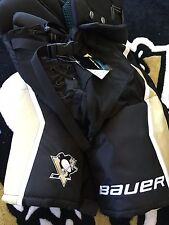 Pittsburgh PENGUIN Bauer Total One95 Small Black Gold NEW Hockey Pants Pro Stock