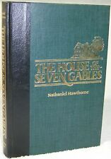 The House of the Seven Gables by Nathaniel Hawthorne (1985, Hardcover) Romance