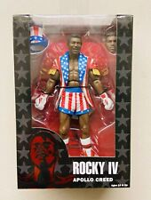 Rocky IV Apollo Creed in USA Outfit Action Figure NECA 2016 NEW 40th Anniversary