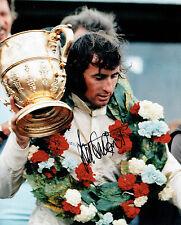 Jackie STEWART SIGNED 10x8 Photo Autograph Race Driver F1 AFTAL RARE COA