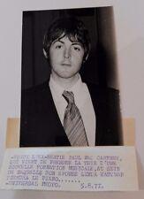 Photo PAUL MAC CARTNEY/BEATLES/originale/presse/argentique/uNIVERSAL PHOTO