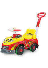My First Ride On Kids Toy Cars mcqueen Push Along Toddlers Infants12m+ light mus