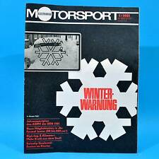 DDR Illustrierter Motorsport IMS 1/1981 Tribsee Motoball Stralsund Toyota Tercel