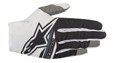 Guanti Adulto Alpinestars Radar Flight Gloves Bianco Nero Cross Enduro MTB DH