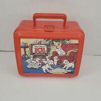 Vintage 101 Dalmations Lunch Box - Walt Disney, Aladdin, Lunchbox No Thermos