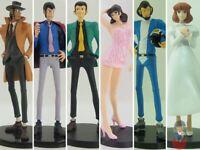 Lupin III BANPRESTO DXF Stylish & Racer Figure. Jigen, Lupin, Fujiko   Vari