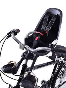 HAMAX CARESS OBSERVER MINI FRONT CHILD BIKE SEAT FITS TRADITIONAL HANDLEBAR STEM