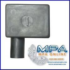 BATTERY TERMINAL COVER - NEGATIVE LEFT FLAG ENTRY - HIGH QUALITY DURABLE PVC