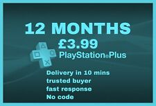 PS PLUS Membership Subscription 12 MONTHS PlayStation [NO CODE] READ DES