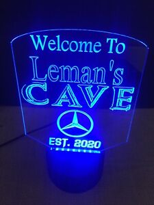 Led Neon Light Sign Custom Logo Personalized Free Standing Man Cave  Bar Room