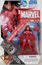 "SCARLET WITCH Marvel Universe 4"" inch Action Figure #16 Series 4 Hasbro 2012"
