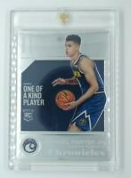 2018-19 Panini Chronicles Michael Porter Jr Rookie RC #508, Denver Nuggets
