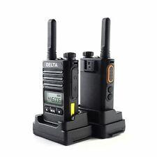Pama Delta PMR Radio Twin Pack 7 Mile Range IP54 VOX Flashlight License Free