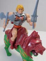 He-Man MOTU Battle Armor He-Man / Battle Cat 1985 Action Figure Gift Set Rare