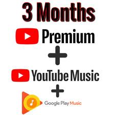 3 month youtube upgrade  Please read description
