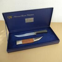 New Orleans Bowie Knife In Collectors Box Made By CAS Hanwei - NEW IN BOX