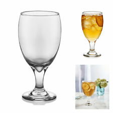 Wine Goblet Set Clear Stemware Glasses 16.25 Oz Water Drinks Barware Set of 12