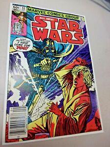 Star Wars #63 (1982) Darth Vader, Plif, G'Hinji  Appearance Newsstand Edition