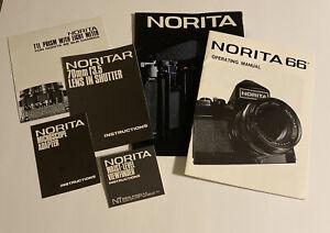 Norita 66 Brochure and Instruction Manuals - Camera Photography