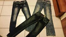 3 X Hüft Hosen Jeans Gr 38