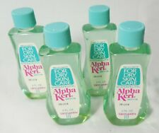 ALPHA KERI Bath Oil  2 Fl Oz Travel Size 4 Bottles For Dry Skin Care
