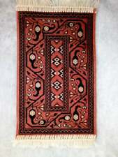 free shipping Dollhouse Rug 1/6 Scale Wool Middle Eastern Style Carpet 21cmx40cm