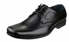 SALE Hush Puppies Easton Ralston Black Lace Office Formal Shoes Sizes 6 to 10
