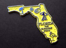 FLORIDA SUNSHINE US STATE FLEXIBLE MAGNET 2 inches
