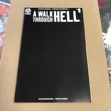 A Walk Through Hell #1 all black cover variant listing 7.