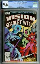 VISION AND THE SCARLET WITCH #1 CGC 9.6 WHITE PAGES // JACK ABEL COVER ART 1982