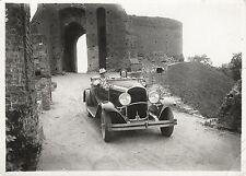 Car. Cinema. 1930's?. Vintage photo 12x16 cm. M135
