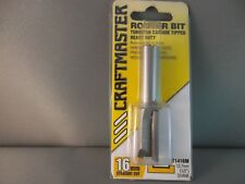 Router Bit- 16mm Straight 1/2shk  CRAFTMASTER Mfg in NZ.  65% OFF